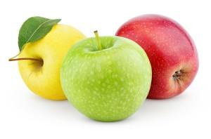 แอปเปิ้ลแต่ละสีมีประโยชน์ไม่เหมือนกัน